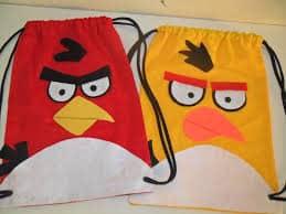 Lembrancinha do angry birds simples e barata