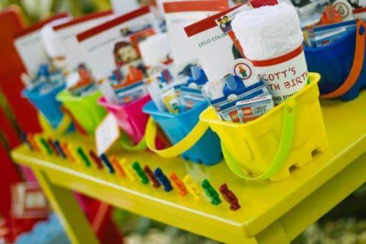 Ideias para fazer lembrancinhas lego