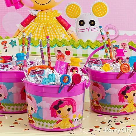 Dicas de como decorar mesa de festa Lalaloopsy infantil