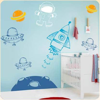 adesivos de parede infantil para quarto