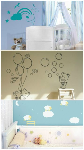 imagens de enfeites de parede colantes
