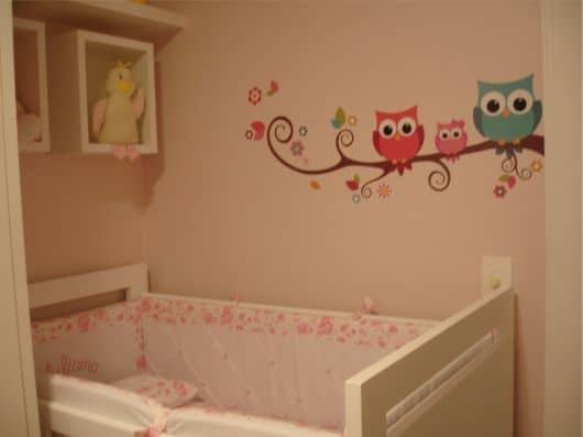 adesivos de parede para quarto de bebê infantil