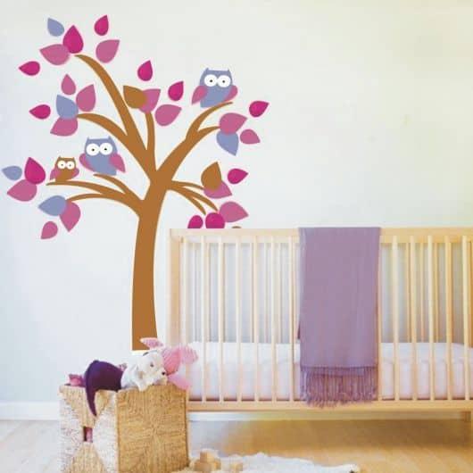 faixas adesivas para quarto de bebê