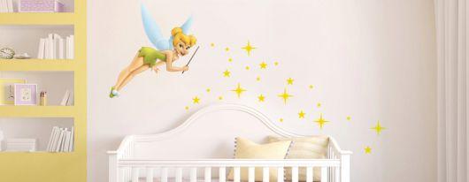 tiras adesivas para quarto de bebê