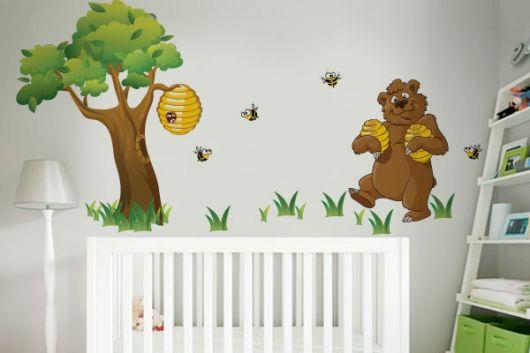 adesivos para quarto de bebê masculino