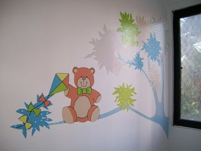 adesivos para quarto de bebê homem - ursos