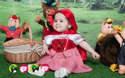 Vestido para Festa Chapeuzinho Vermelho infantil - onde comprar