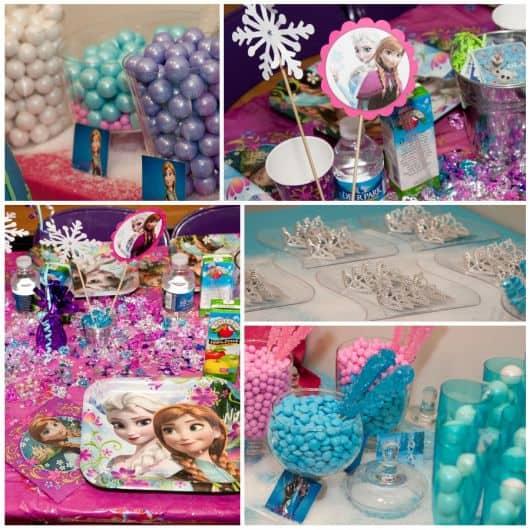 Festa Frozen faça você mesmo - DIY