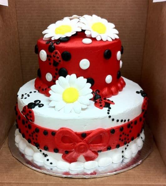 bolo de aniversário joaninha