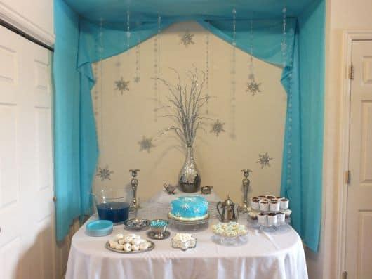 Como fazer Festa Frozen em casa
