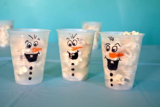 Dicas de decoração e comida para aniversário com tema Frozen