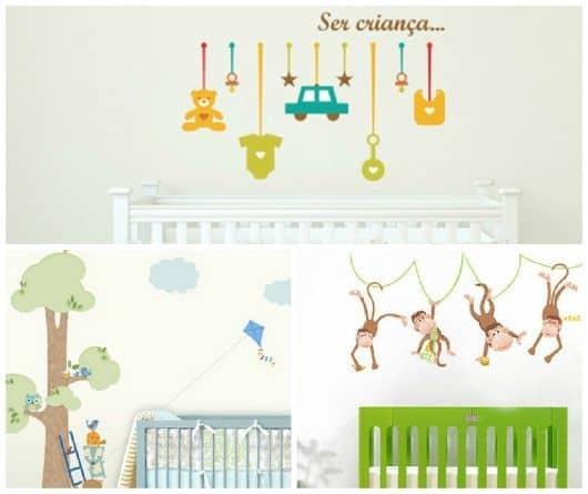 decoração quarto de bebe simples e barato