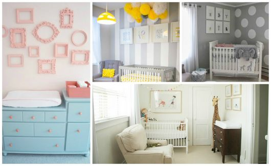 Imagens de quartos lindos simples para bebês