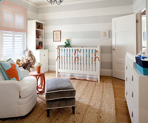 decoração quarto de bebê pequeno simples