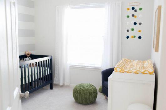 quarto de menino simples clean