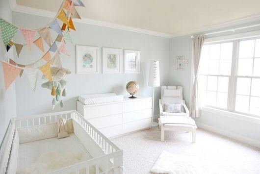 foto de quarto masculino de bebê