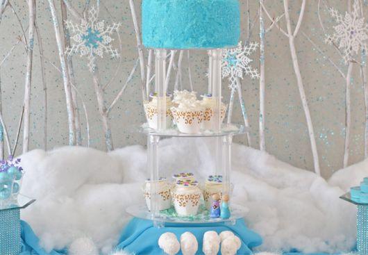 Ideias para Festa Frozen infantil diferente e barata - DIY