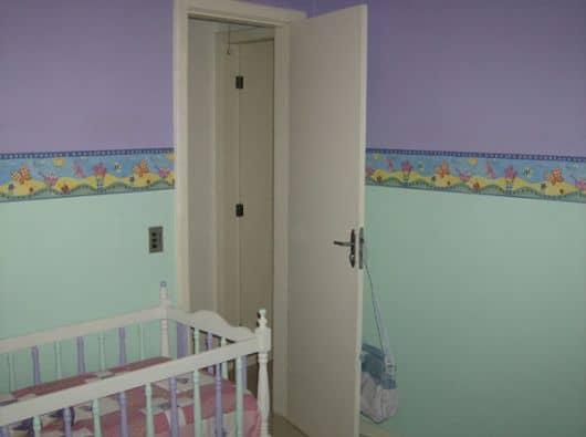 Faixa de parede infantil colorida