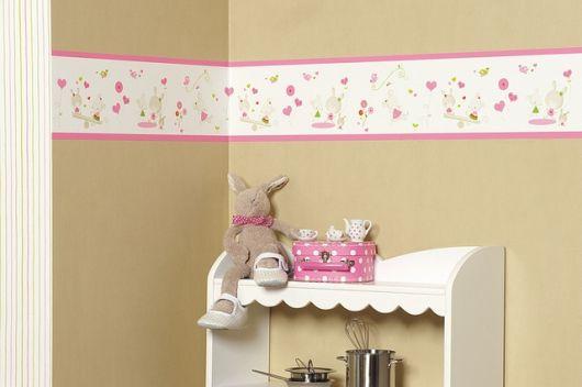 faixa para quarto de bebê feminino