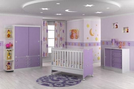 faixa decorativa quarto de bebê feminino