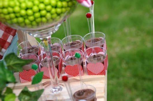 Ideias de doces para Festa Chapeuzinho Vermelho