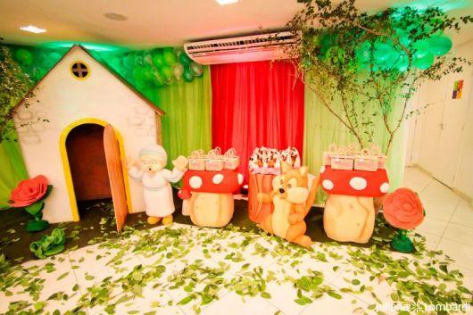 Festa Chapeuzinho Vermelho - ideias criativas