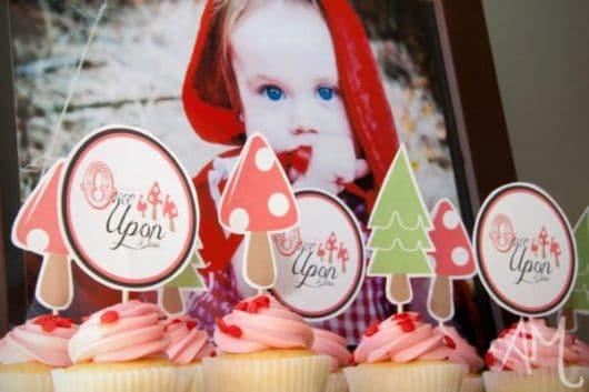 Decoração de Festa Chapeuzinho Vermelho baby