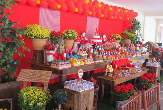 Como fazer Festa Chapeuzinho Vermelho provençal em casa