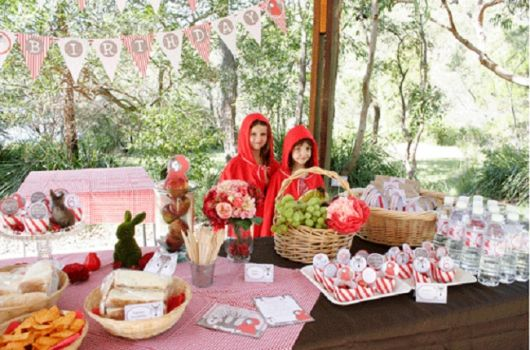 Como organizar uma Festa Chapeuzinho Vermelho infantil