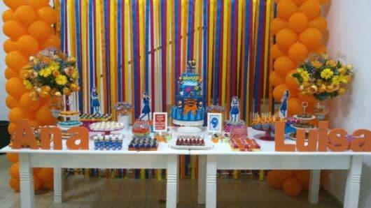 decoração festa chiquititas