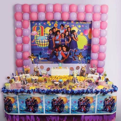 mesa de festa tema chiquititas