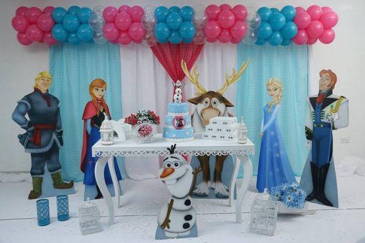 festa frozen provençal passo a passo