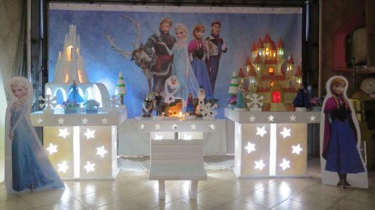 Como decorar aniversário infantil Frozen