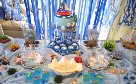 festa fundo do mar infantil