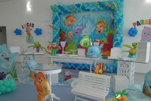festa fundo do mar 1 ano baby