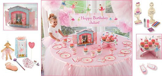 Ideias para festa infantil com tema bailarina