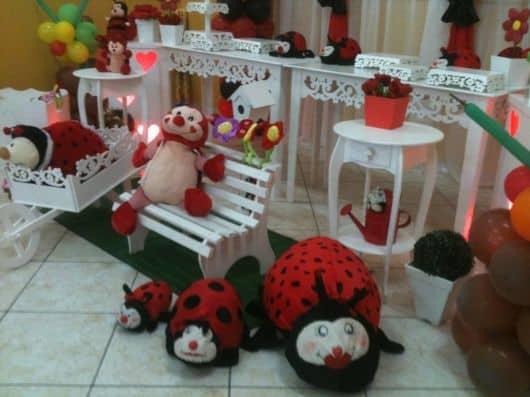 festa joaninha 1 aninho baby