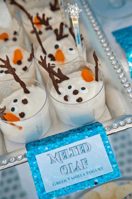 Festa Frozen infantil - o que servir