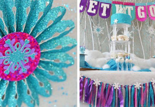 Fotos de Festa Frozen chique
