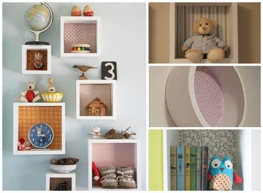 fotos de nichos para quarto de bebê