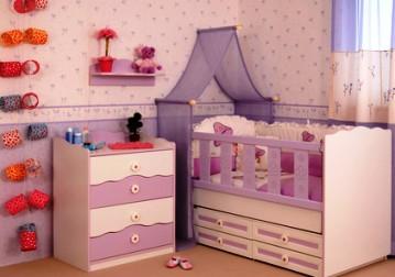 ideias de papeis de parede lilás para crianças