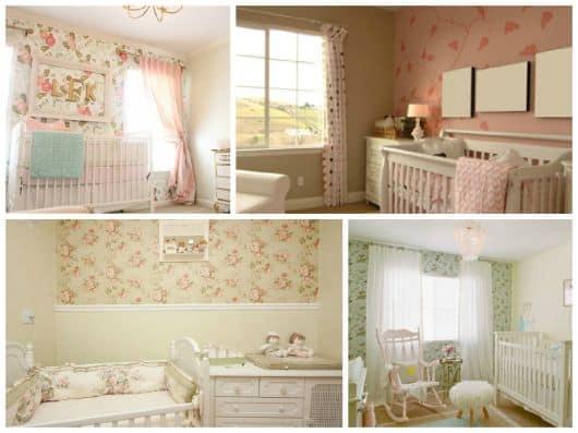 imagens de papeis de parede infantis para quarto