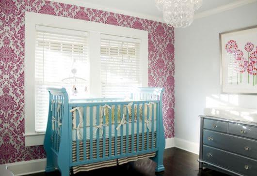 papel arabesco para quarto de criança