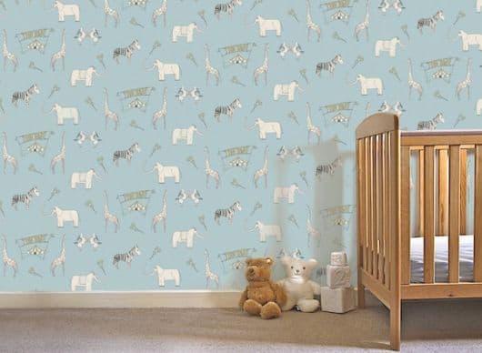 parede de animais - safari