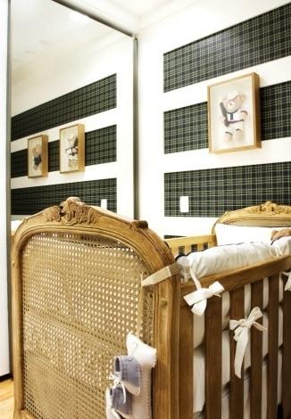 papel de parede para quarto de bebê barato