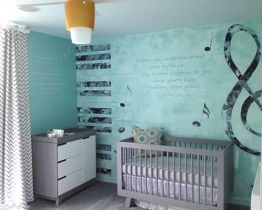 quarto de bebe menino moderno