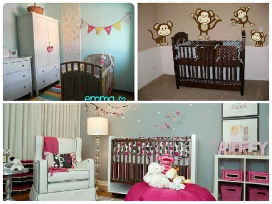 fotos de quarto de bebê moderno