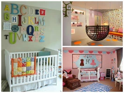 quarto decorado para crianças pequenas
