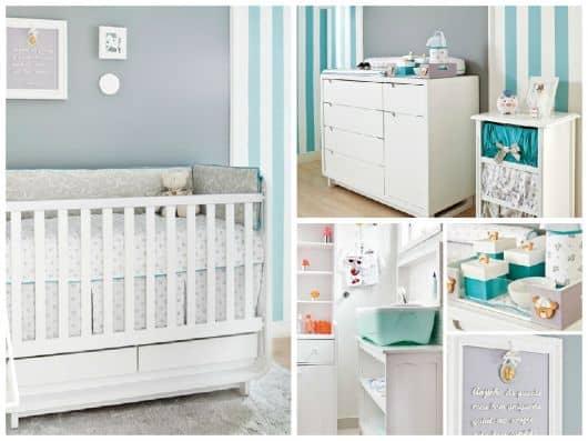 móveis para quarto de bebê moderno