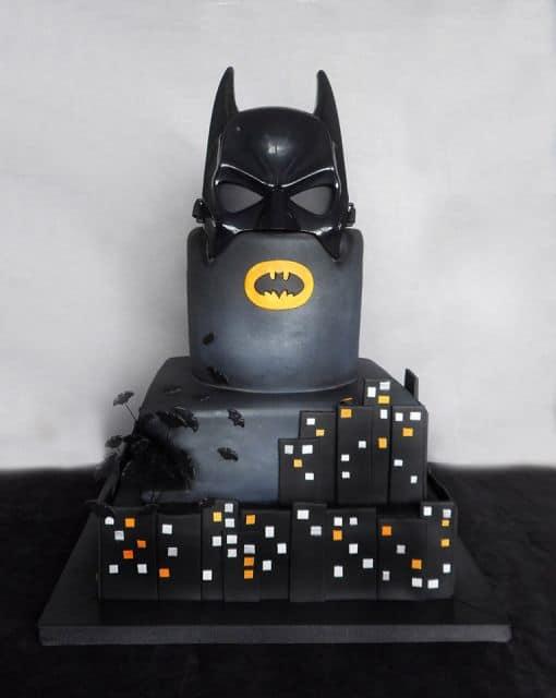 bolo de festa do batman